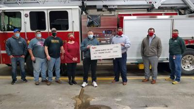 Hy-Vee donates $50,000 to Chariton Volunteer Fire Department