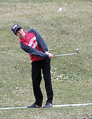 Anderson, Shelton lead Charger golfers at Albia Quad