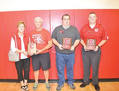 Mason, Dhabolt, Roberts inducted into CHS Athletic Hall of Fame