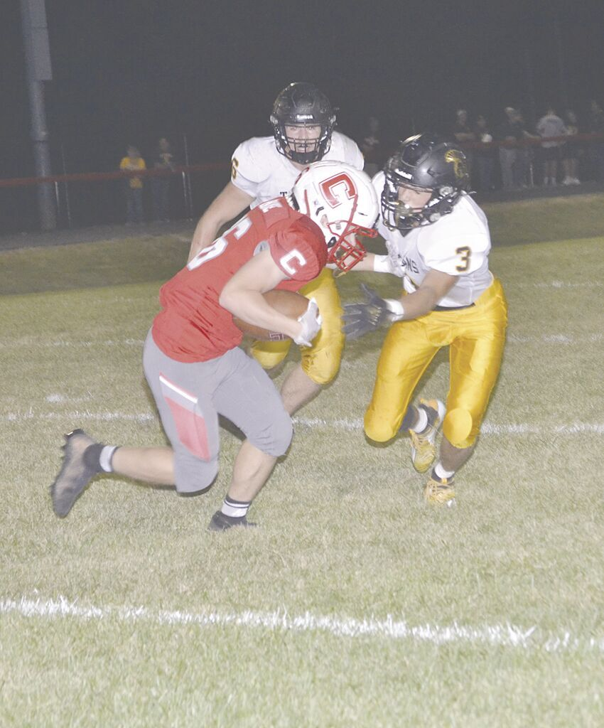 #26 Kasyn Paige running with ball.tif