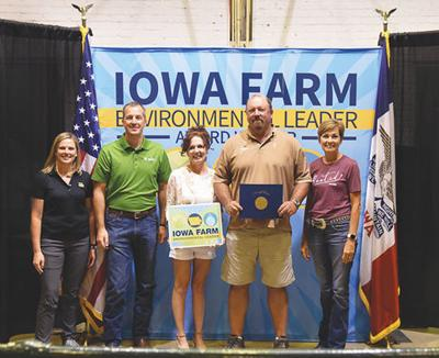 Lucas County Producers honored with Iowa Farm Environmental Leader Award