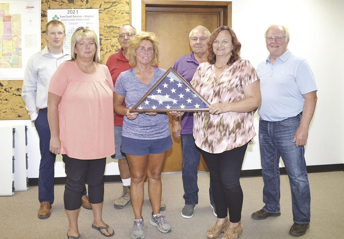 City Council donates American flag to Halferty family