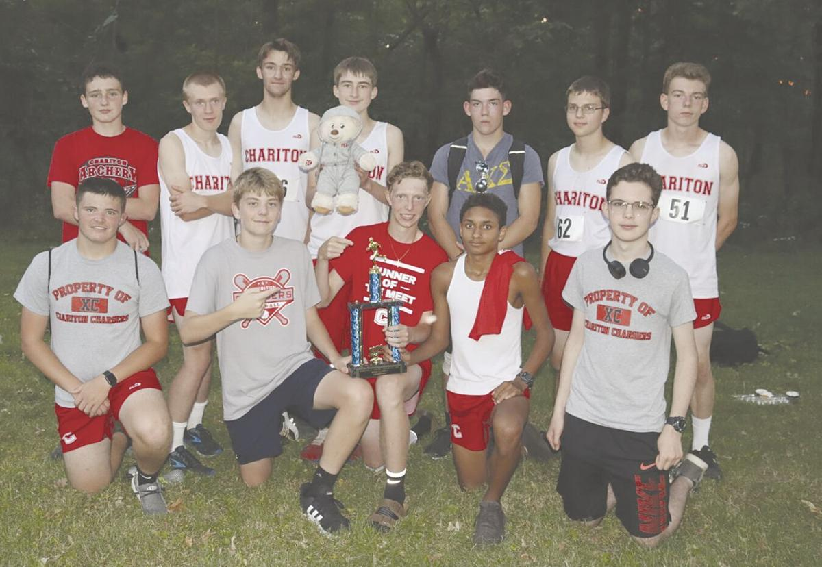 Champion Chargers! Chariton boys place 1st overall in Class A at Fairfield X-C meet