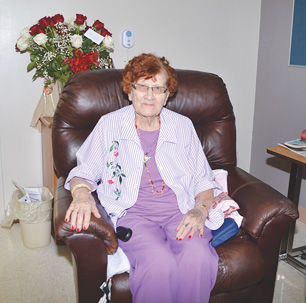 Nursing home resident Jones reflects on her 99 years of life