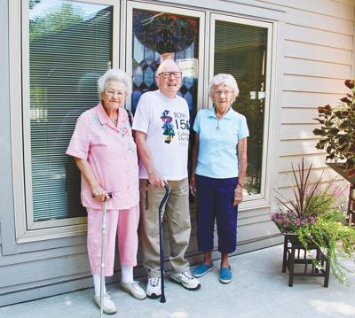 Three of 1st Lutheran Church's oldest members reminisce about their church