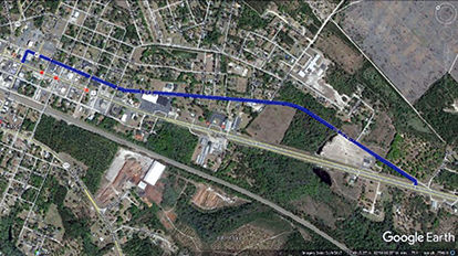 US Week Long Closure In Folkston Starts August News - Us 301 map