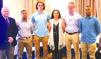 Local enlisting students honored