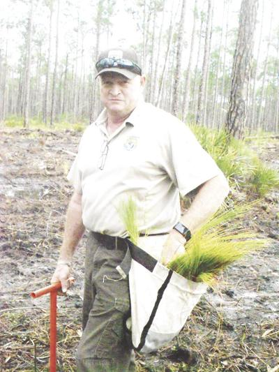 Okefenokee's Forestry Technician leaves legacy