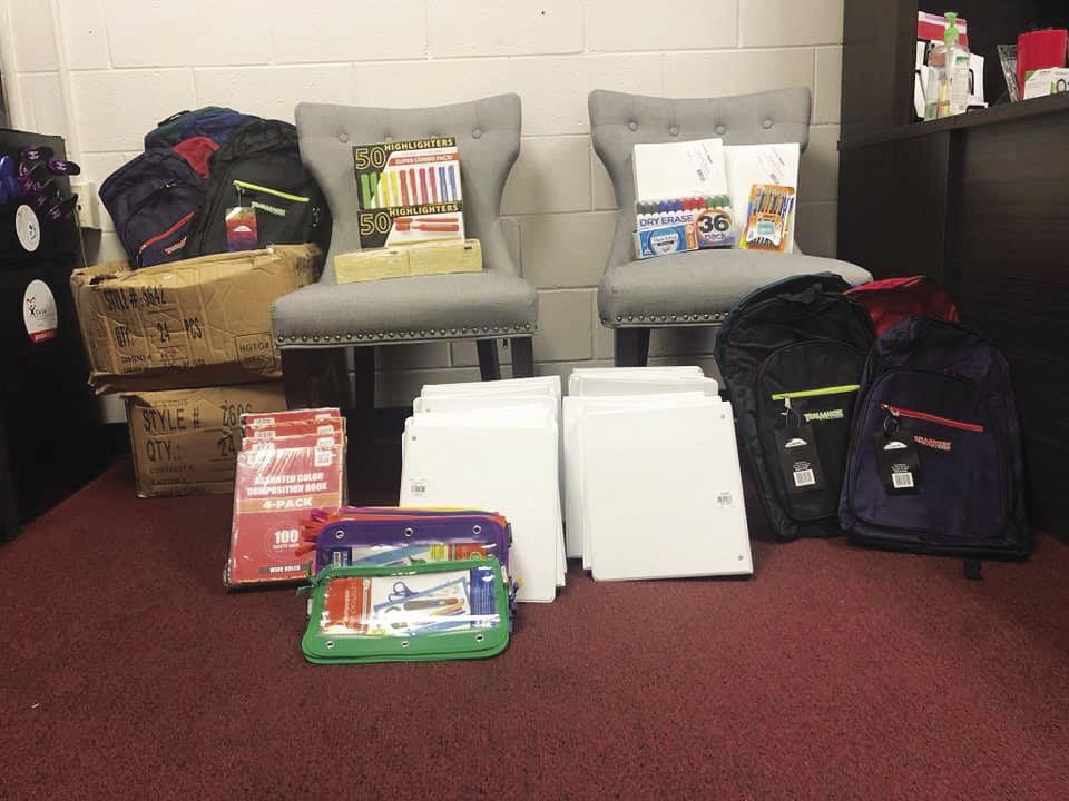 Annual bake sale raises money  for school supplies