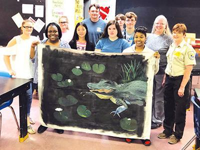 Artwork donated to ONWR