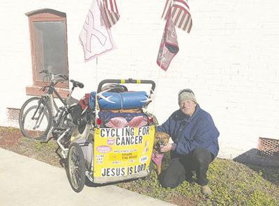 Cycling for a Cause: Donoho makes pit stop in Folkston