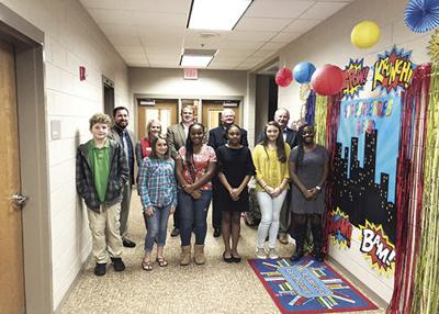 Students honored at BMS