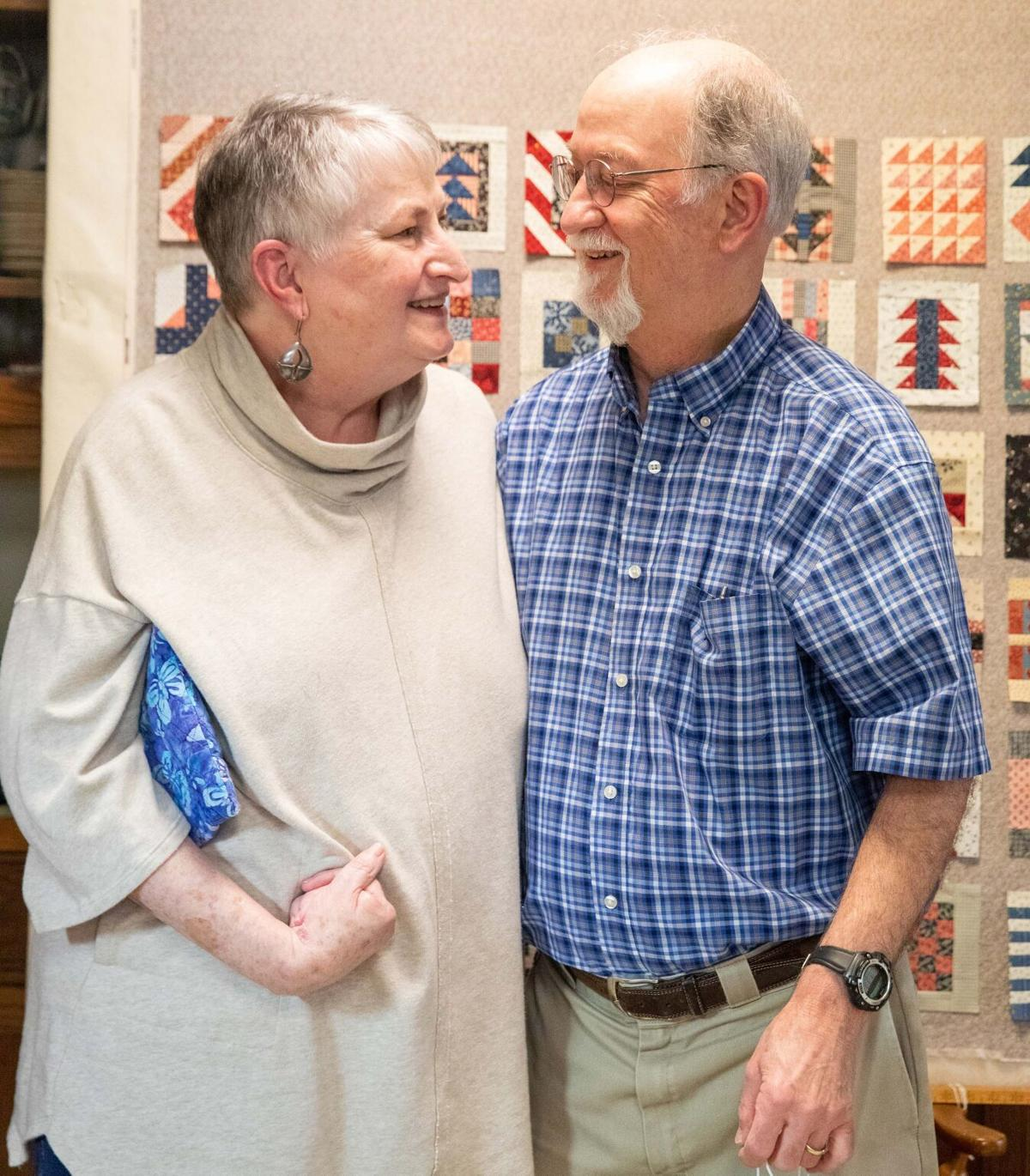 Quilting Couple