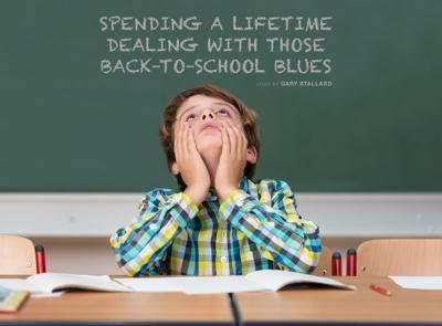 Back-To-School Blue