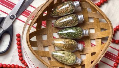 Dip Mix DIY Ornaments