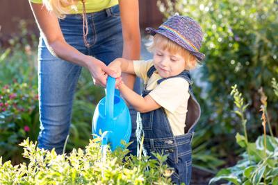 Getting Kids Into Gardening