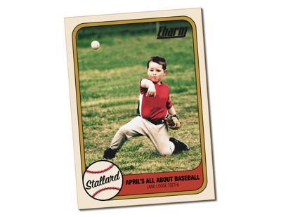 Stallard Baseball Card