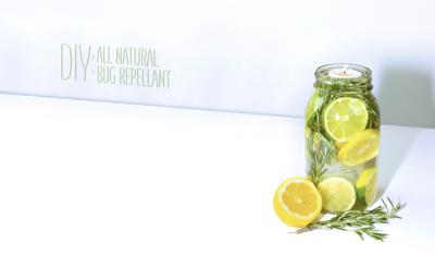 DIY All-Natural Bug Repellant