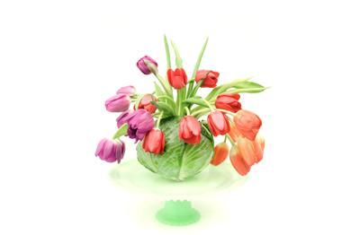 DIY Spring Garden Arrangement