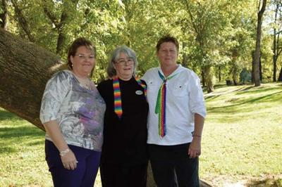 Ringgold same-sex couple marries at Danville park
