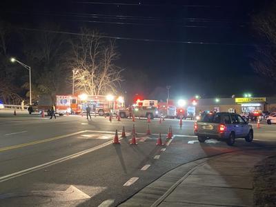Car crash on South Main