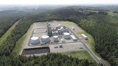 Proposed peak power station