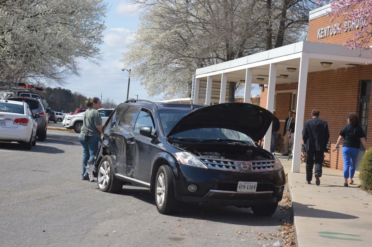 Six cars involved in crash outside Kentuck Elementary