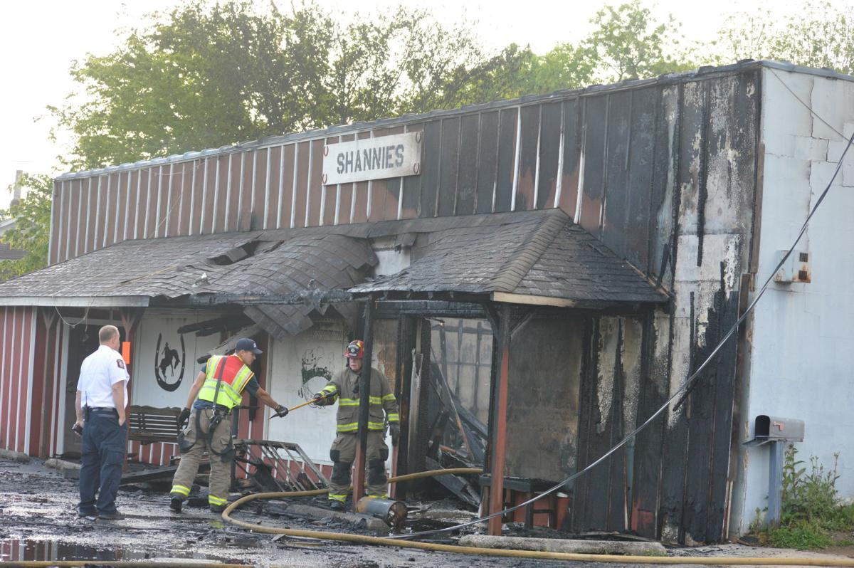 Shannie's Bar and Grill a total loss following early morning fire