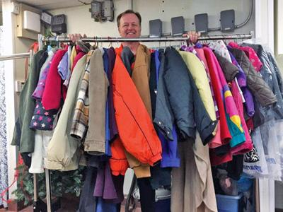 Martinizing Dry Cleaning collects 1389 coats for needy