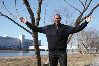 Citizen of theYear Kenny Lewis attributes success to