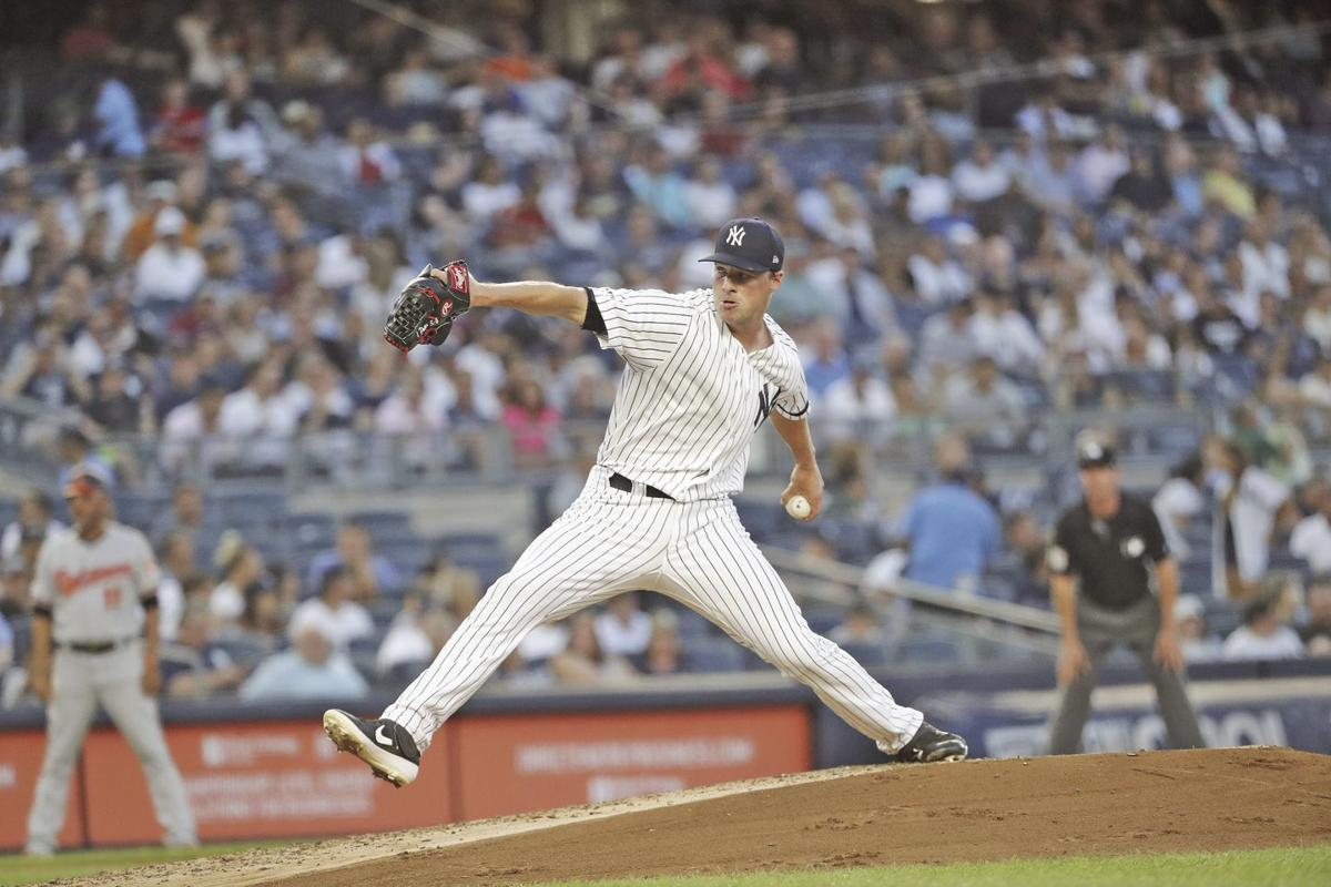 Pitching for the New York Yankees