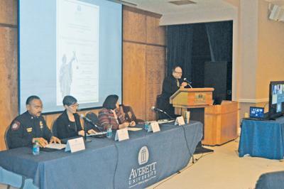 Averett hosts policing forum