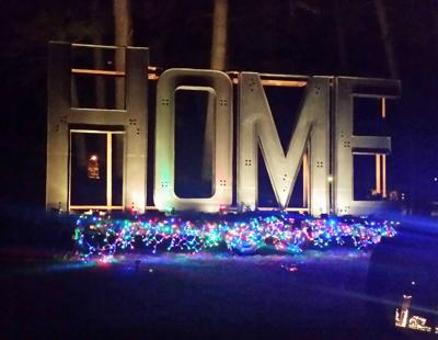 Danville showcases holiday light show