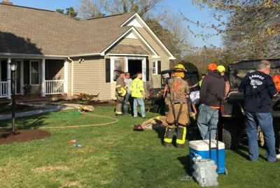 Family displaced after fire