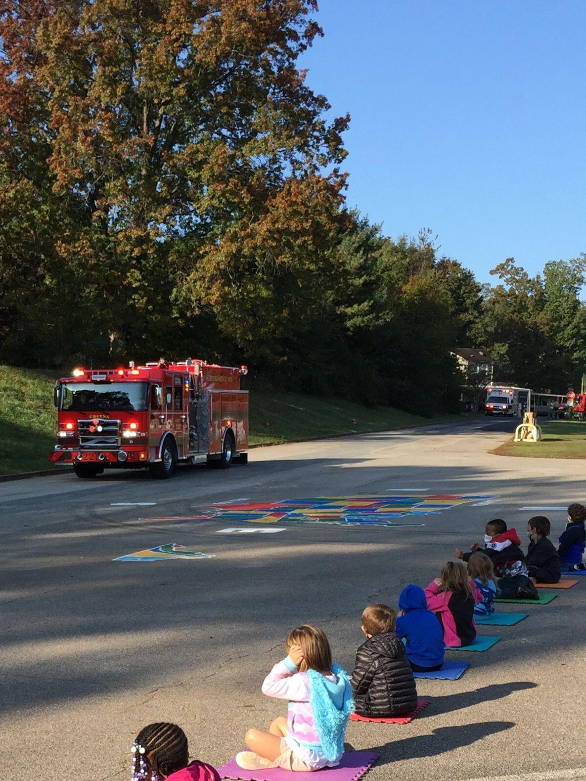 Gretna Elementary students enjoy educational parade