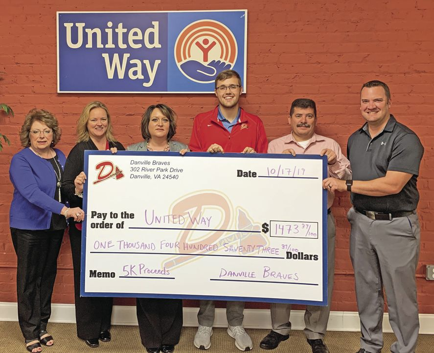 Braves donation to United Way