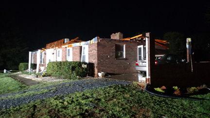 Burke Drive home damage