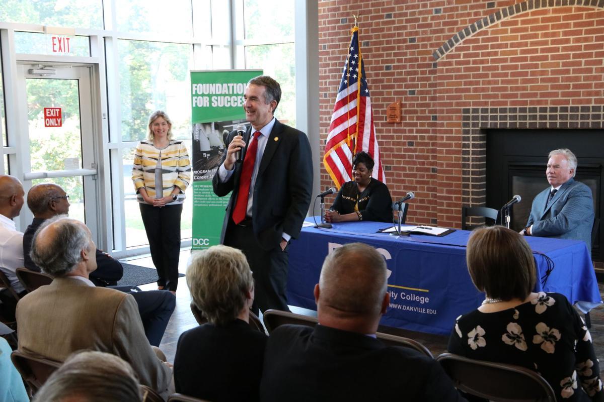 Governor Northam visits DCC | News | chathamstartribune com