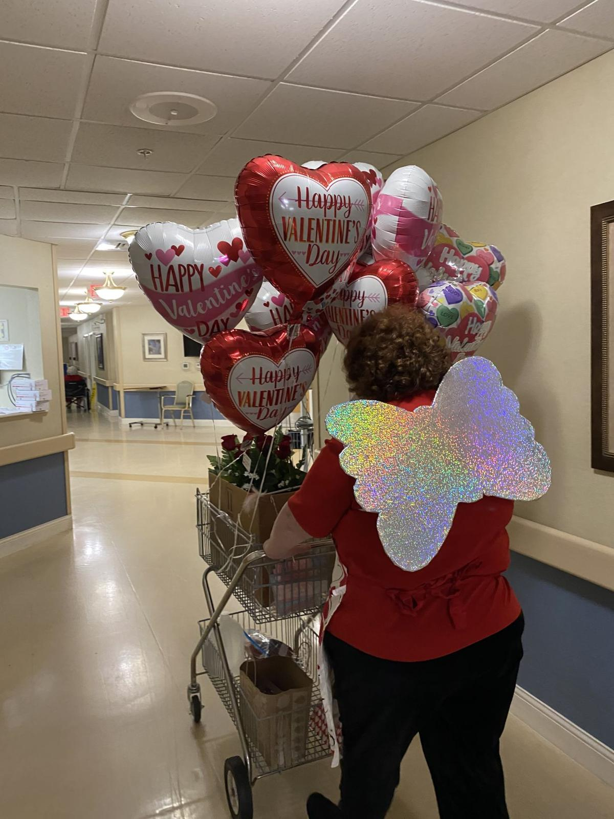 Chatham's Secret Cupid spreads the love at Chatham Health and Rehab