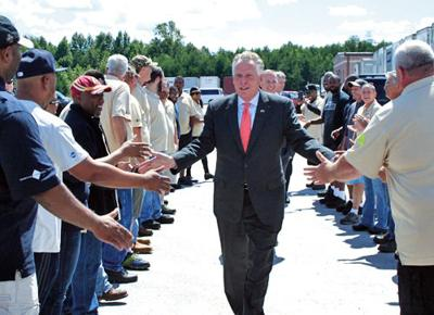 Governor McAuliffe announces $7 million investment in Pittsylvania County