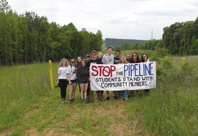 Students follow pipeline trail to highlight concerns