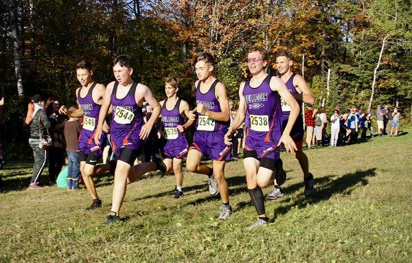 C-W boys cross country, 5K