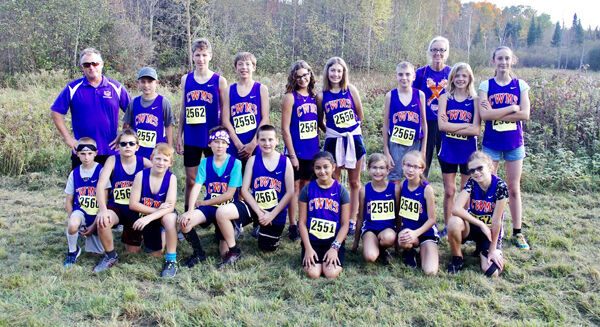 C-W middle school cross-country team