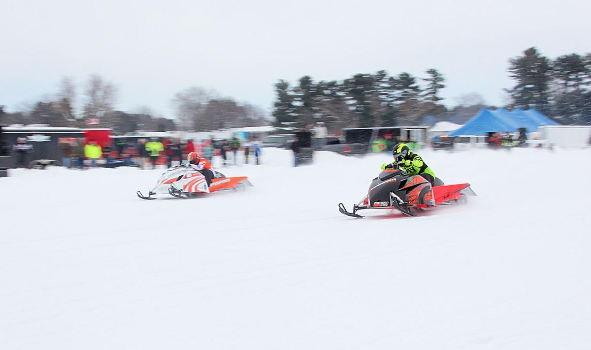 Snow Outlaws competitors go head to head in drag races | Community