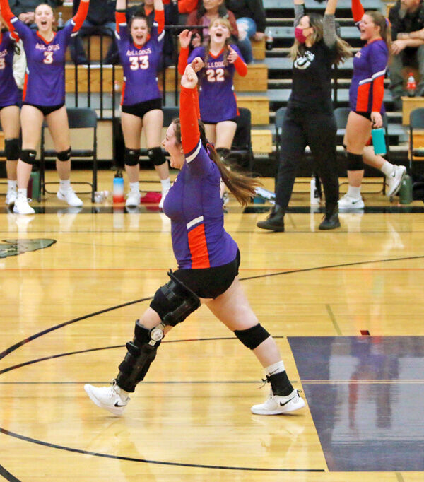 C-W volleyball, Evans