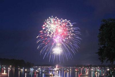 Chetek Liberty Fest fireworks