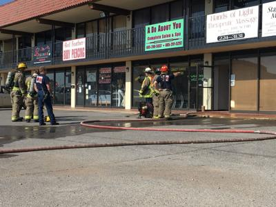 Chickasha Fire Fighters respond to dryer fire