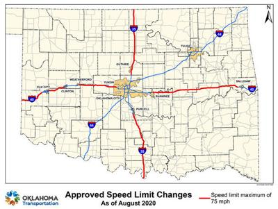 A drive up to 75; speed limit changes in sight for some rural Oklahoma interstates