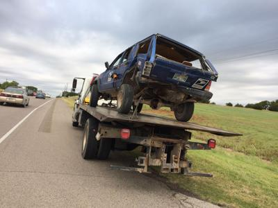 Mail vehicle hit