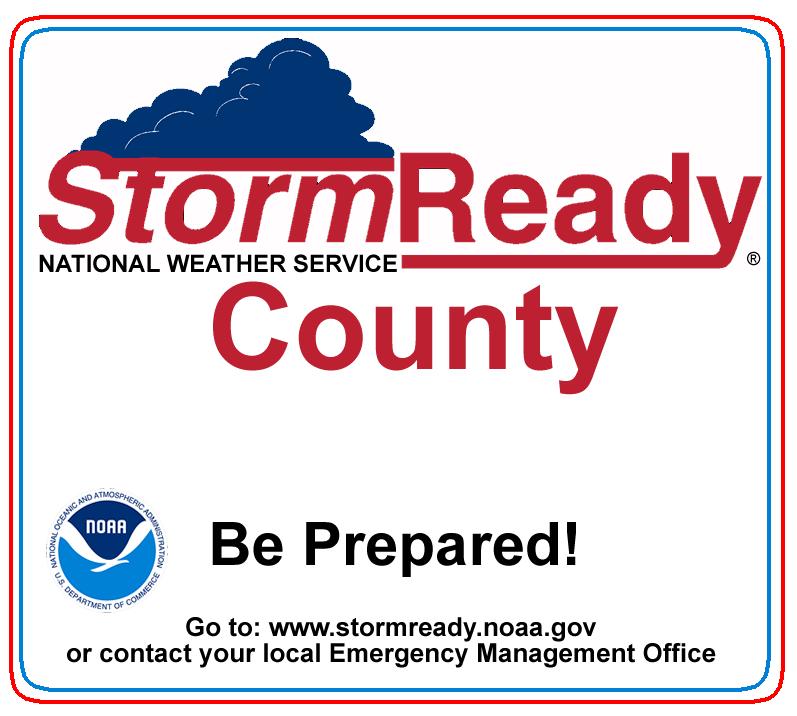 Grady County recognized as StormReady county